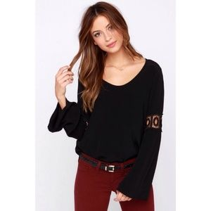 Lucy Love Flare Top Bell Sleeves